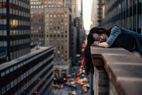 müde, erschöpft, energielos, antriebslos